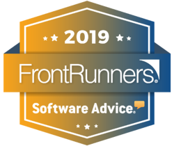 2019 badges colored software advice front runners