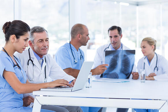 Collaboration-in-medical-transcription-services