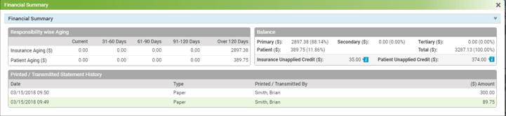 enhanced patient financials module insync ehr update
