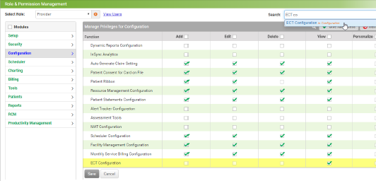Ability to View ECT Filing Vendor Details with Configurable Header