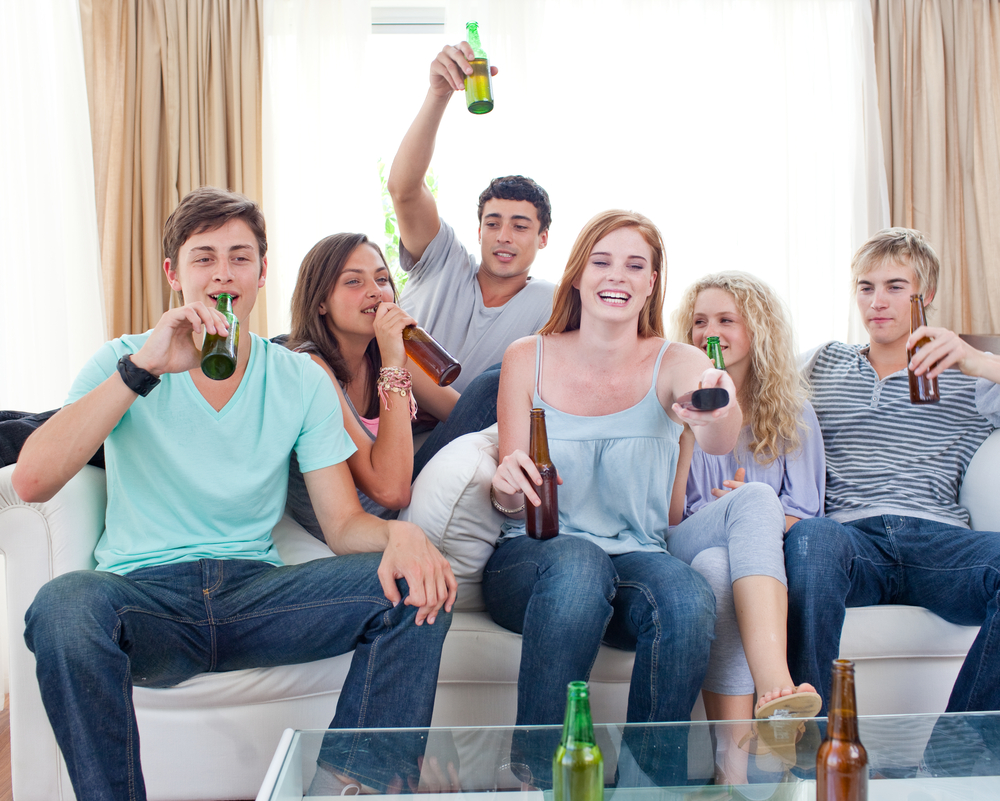 A new study shows a distinct correlations between words used and the level of sobriety in youth